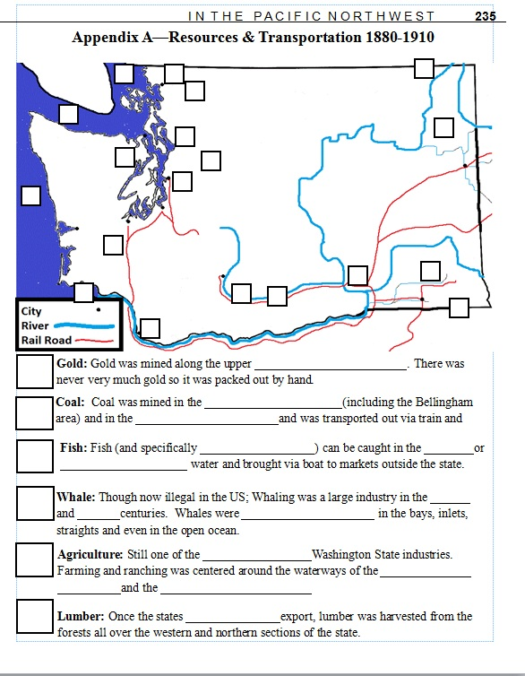 7th grade Washington State History Lesson Plan Resource – 7th Grade History Worksheets